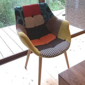 ダイニングチェア ダイニングセット チェア 椅子 チェアー イームズチェア パッチワークチェア デザイナーズ 木脚 北欧 おしゃれ 完成品 interior-daiki