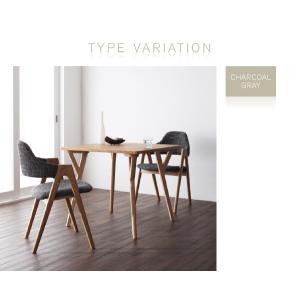 ダイニングテーブル ダイニングセット ダイニングテーブルセット 2人掛け 3点セット デザイナーズ 無垢材|interior-daiki