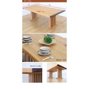 ダイニングテーブルセット ダイニングセット ダイニング7点セット カントリー 北欧 レトロ 食卓セット 木製 家具通販|interior-daiki|02