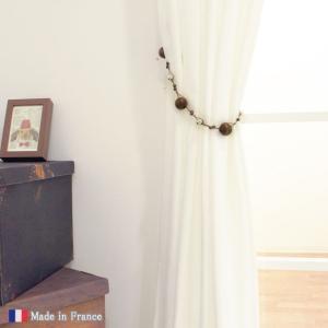 セール/カーテンタッセル フランス製/木製&メタルビーズ トバゴ 1個|interior-depot