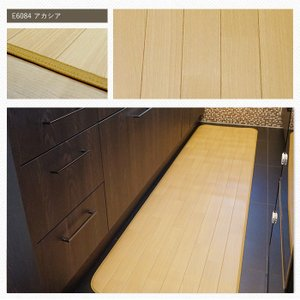 クッションフロア キッチンマット 木目柄 アカシア 幅60cm×長さ310〜350cm JQ|interior-depot|02