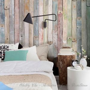 おしゃれな輸入壁紙 クロス ヴィンテージウッド 184cm×254cm ドイツ製壁紙/4NW-910 Vintage wood|interior-depot