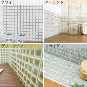 モザイクタイルシール デコレ 大正カフェ タイル キッチン シール DIY 壁 北欧|interior-depot|03
