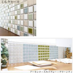 モザイクタイルシール デコレ 大正カフェ タイル キッチン シール DIY 壁 北欧|interior-depot|05
