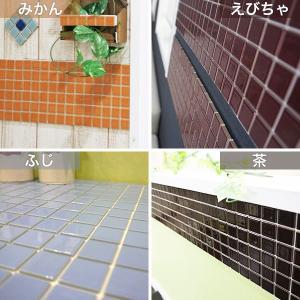 インテリアモザイクタイルシール 壁 デコレ カプリ 1枚/北欧 カフェ タイル キッチン シート DIY|interior-depot|03