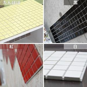インテリアモザイクタイルシール 壁 デコレ カプリ 1枚/北欧 カフェ タイル キッチン シート DIY|interior-depot|04
