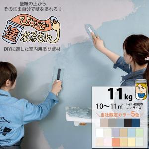 室内用塗り壁材 ひとりで塗れるもん 11kg|interior-depot