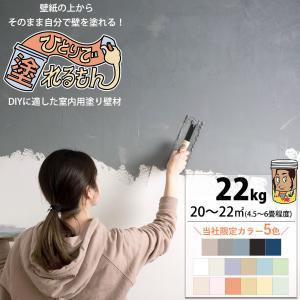 室内用塗り壁材 ひとりで塗れるもん 22kg|interior-depot