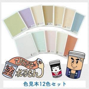 室内用塗り壁材 ひとりで塗れるもん 色見本セット|interior-depot