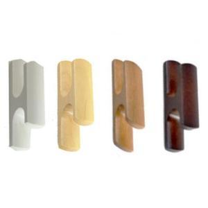 房掛け ふさかけ タッセルホルダー 木製 テープ式 2個セット