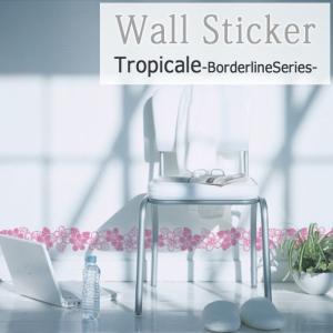 ウォールステッカー お洒落 deco/027 Tropicale 送料無料|interior-depot