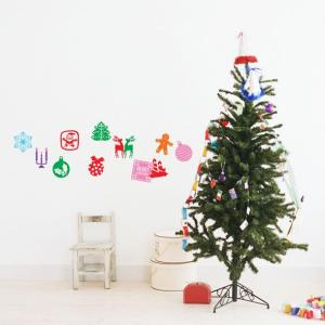 ウォールステッカー 激安 クリスマス 12枚入り 129 Stikkies Holidaicons2  セール interior-depot