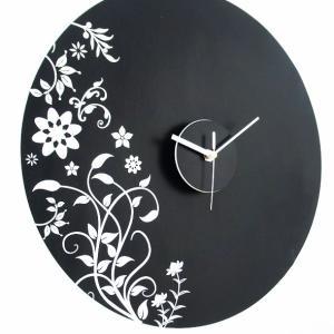 ウォールステッカー 時計 クロック/WD130 Botanica 送料無料|interior-depot