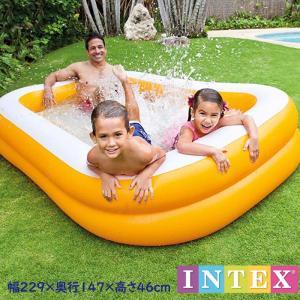 ビニールプール 家庭用プール 子供用プール マンダリン スイムセンターファミリープール 大型