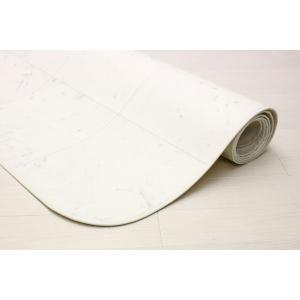 クッションフロアカーペット ペット対応 ダイニングカーペット 消臭機能 撥水 表面強化 大理石柄 約180cmX180cm|interior-fuji|03