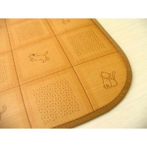 クッションフロアカーペット ペットシート ダイニングカーペット 消臭機能 撥水 表面強化 犬猫柄  約180cmX180cm|interior-fuji|03