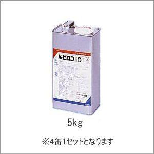 接着剤 ウレタン系1液 ルビロン101 5kg缶X4缶セット クシベラ付まで 人工芝の貼付け施工に最適。|interior-fuji