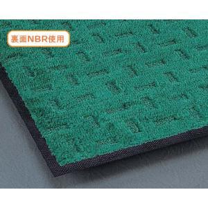 玄関マット 屋外 エコレインマット(NBR) 90cmX180cm(納期2週間)|interior-fuji