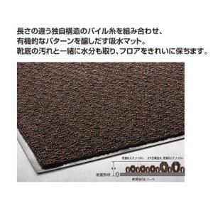 玄関マット 屋内 吸水用 ニューリブリードマット 90cmX180cm|interior-fuji