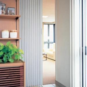 アコーディオン カーテン 間仕切り ニチベイ やまなみマーク2 テヒード 幅 54〜90cmX高さ 141cm〜180cmまで|interior-fuji