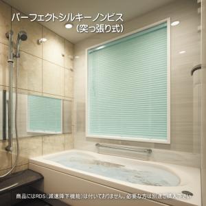 ブラインド 浴室 ノンビス タチカワ パーフェクトシルキー 25mm 酸化チタンコート フッ素コート 幅141cm〜160cmX高さ81〜100cmまで interior-fuji