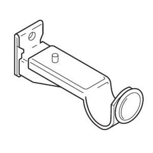 カーテンレール TOSO クラスト19 部品 エンドブラケット(アンティークカラー)|interior-fuji