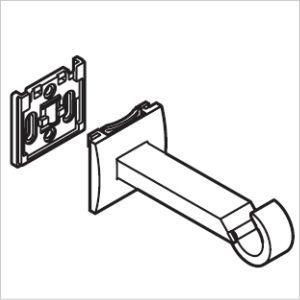 カーテンレール TOSO グレイスフィーノ19 部品 エキストラシングルブラケット|interior-fuji