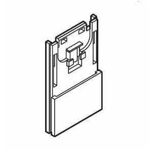 カーテンレール TOSO グレイスノーヴァ19 部品 ブラケット持上げベース|interior-fuji