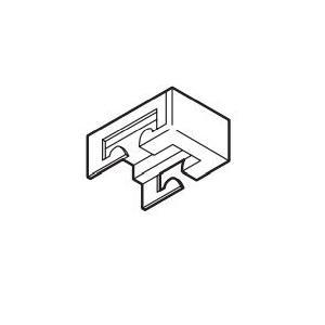 カーテンレール TOSO リフレ 部品  天井付シングルブラケット|interior-fuji