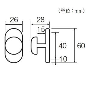 カーテン ふさかけ(タッセル掛け) TOSO ロータス(10ケ入り) interior-fuji 02