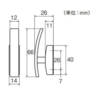 カーテン ふさかけ(タッセル掛け) TOSO セフティーふさかけA(1ケ入り)|interior-fuji|02