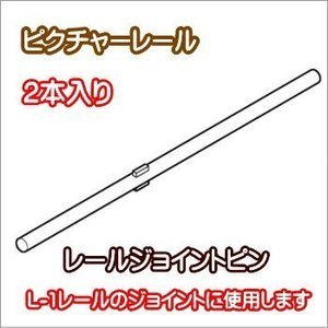 ピクチャーレール TOSO 部品  ジョイントピン(2本セット)|interior-fuji