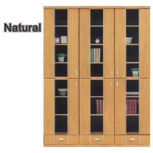 本棚 書棚 北欧 扉 完成品 幅135cm 開梱設置無料|interior-moka224