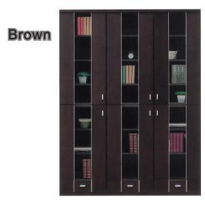 本棚 書棚 北欧 扉 完成品 幅135cm 開梱設置無料|interior-moka224|03