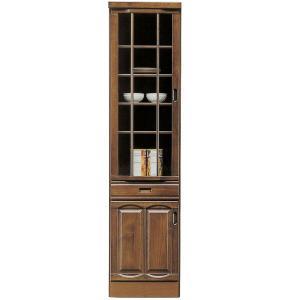 食器棚 ダイニングボード 完成品 幅45cm 和風モダン キッチン収納 国産|interior-moka224