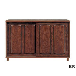 アッシュ材の木目が美しい、幅150cm、大容量シューズボックスです。扉の開閉が邪魔にならない引き戸タ...