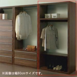 ワードローブ 服吊 幅60cm 棚 完成品 おしゃれ|interior-moka224