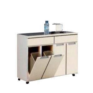 ダストボックス キッチンカウンター 4分別 完成品 interior-moka224
