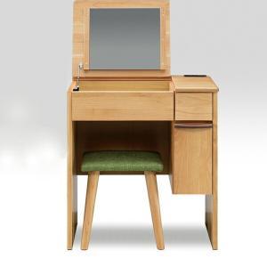 ドレッサー 化粧台 鏡 ミラー 鏡台 おしゃれ スツール付き interior-moka224