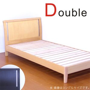 ベッド ダブルベッド フレームのみ フレーム単体 シンプル interior-more