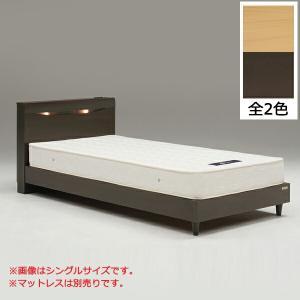 ベッド ダブルベッド 木製ベッド シンプル ベッドフレーム 北欧 モダン interior-more