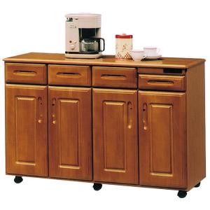 キッチンカウンター レンジボード 幅120cm 完成品 木製|interior-more