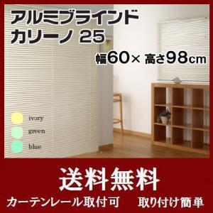 ブラインド アルミブラインド ブラインドカーテン カリーノ25 幅60×高さ98cm |interior-myhouse