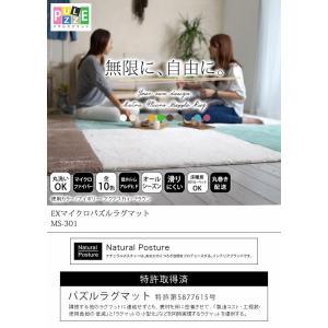 マット 洗える マイクロファイバー 50×100 シルクタッチ ホットカーペット対応 オールシーズン 長方形|interior-myhouse|02