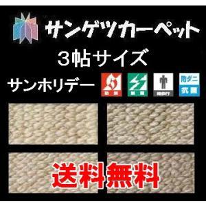 カーペット 3畳 じゅうたん ラグカーペット サンゲツカーペットサンホリデー 3帖サイズ  176cm×261cm|interior-myhouse