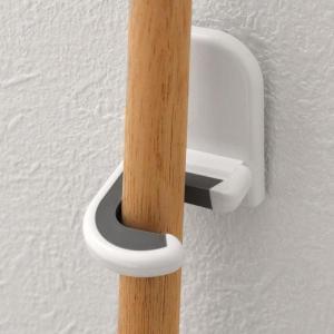 壁掛けフック モップホルダー ( モップ 掛け モップハンガー フック )|interior-palette