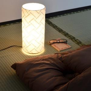 テーブルライト 和紙 プリーツ 織姫 1灯 ( 照明 和風 テーブル )|interior-palette