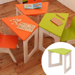 キッズデスク キッズミニデスク 机 E-Ko ( 子供用 テーブル 木製 )|interior-palette