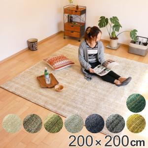 ラグ スミノエ リュストル LUSTRE 200×200cm ( ラグマット カーペット 絨毯 ) interior-palette