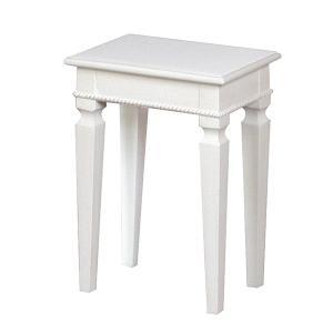 ドレッサースツール 椅子 アンティーク調 ロマンチック Duet 座面高44cm ( スツール いす イス ドレッサー )|interior-palette
